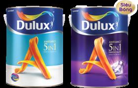 Báo giá sơn nhà bằng sơn nội thất cao cấp Dulux 5 in 1 trọn gói