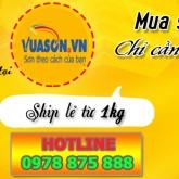 Hướng dẫn mua sơn lẻ - giá thật rẻ tại Hệ thống phân phối Vua Sơn - Vuason.vn
