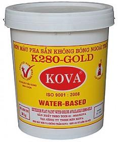 Sơn Kova pha sẵn ngoài trời K280-Gold - Vua Sơn